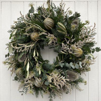 FIR GREEN Door Wreath